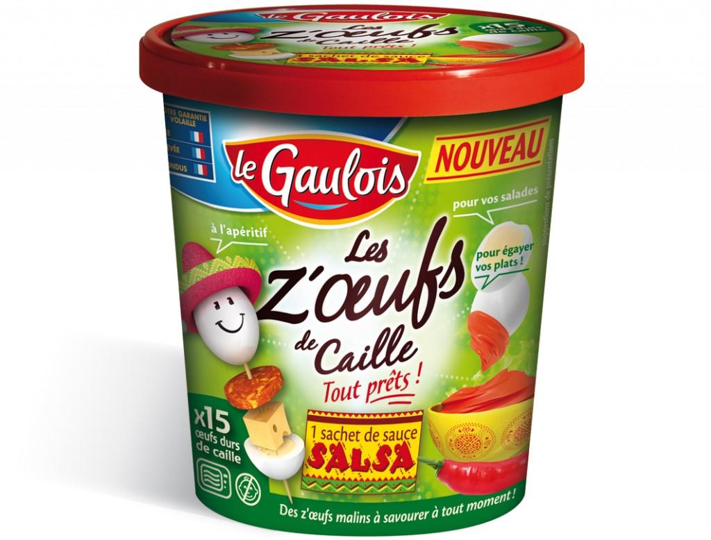 Boite oeufs de caille x15 Salsa